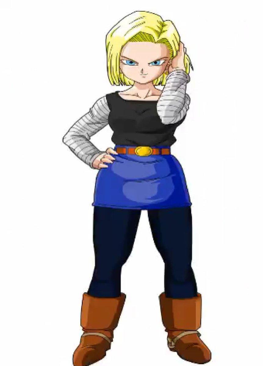 Pues mi enemiga es la Waifu c18. Pero con Goku SS2 me llevo la victoria ^^