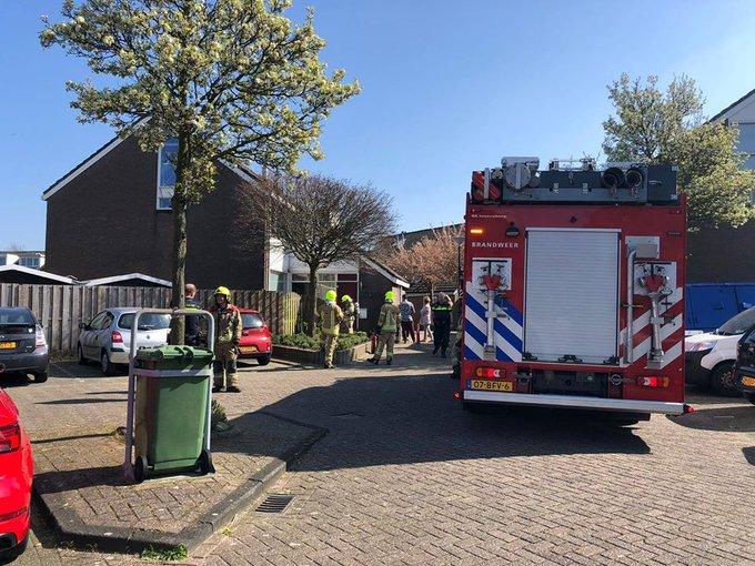 Binnenbrand Zeemansdreef Maassluis betrof rookontwikkeling in meterkast.  Bleek mee te vallen https://t.co/FSEPGg4yd7