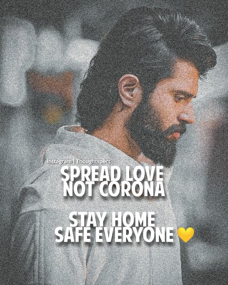#thoughtspert #Vijaydevarkonda #CoronaLockdownpic.twitter.com/aXddFzkKq9