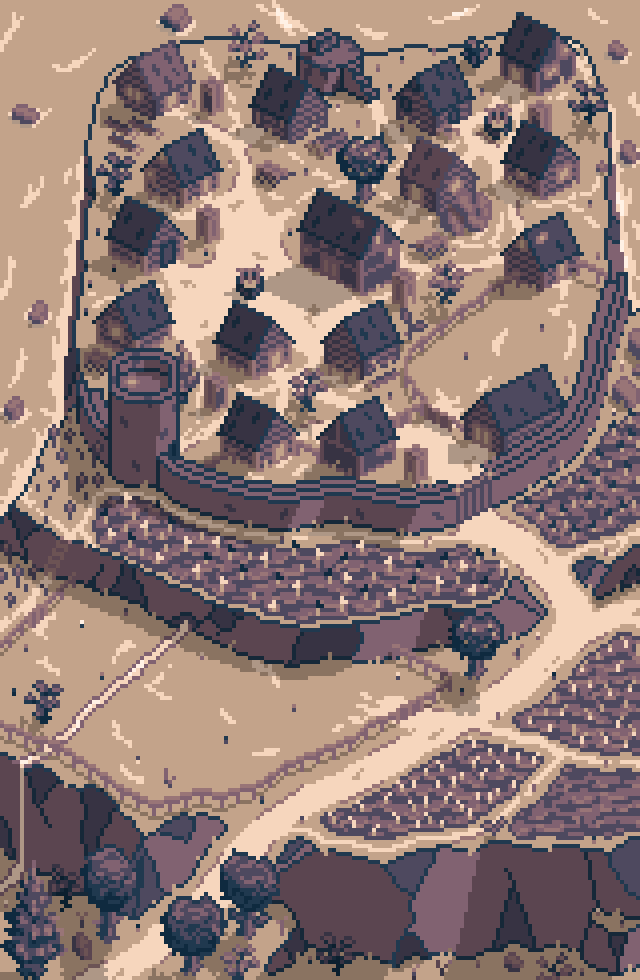 Villages in #Roadwarden are secluded and often self-sufficient, doing their best to utilize their landscape and the nearby resources to their advantage.  #screenshotsaturday #RPG #indiedev #indiegame #gamedev #VisualNovel #pixelartpic.twitter.com/Vl402eWJWT