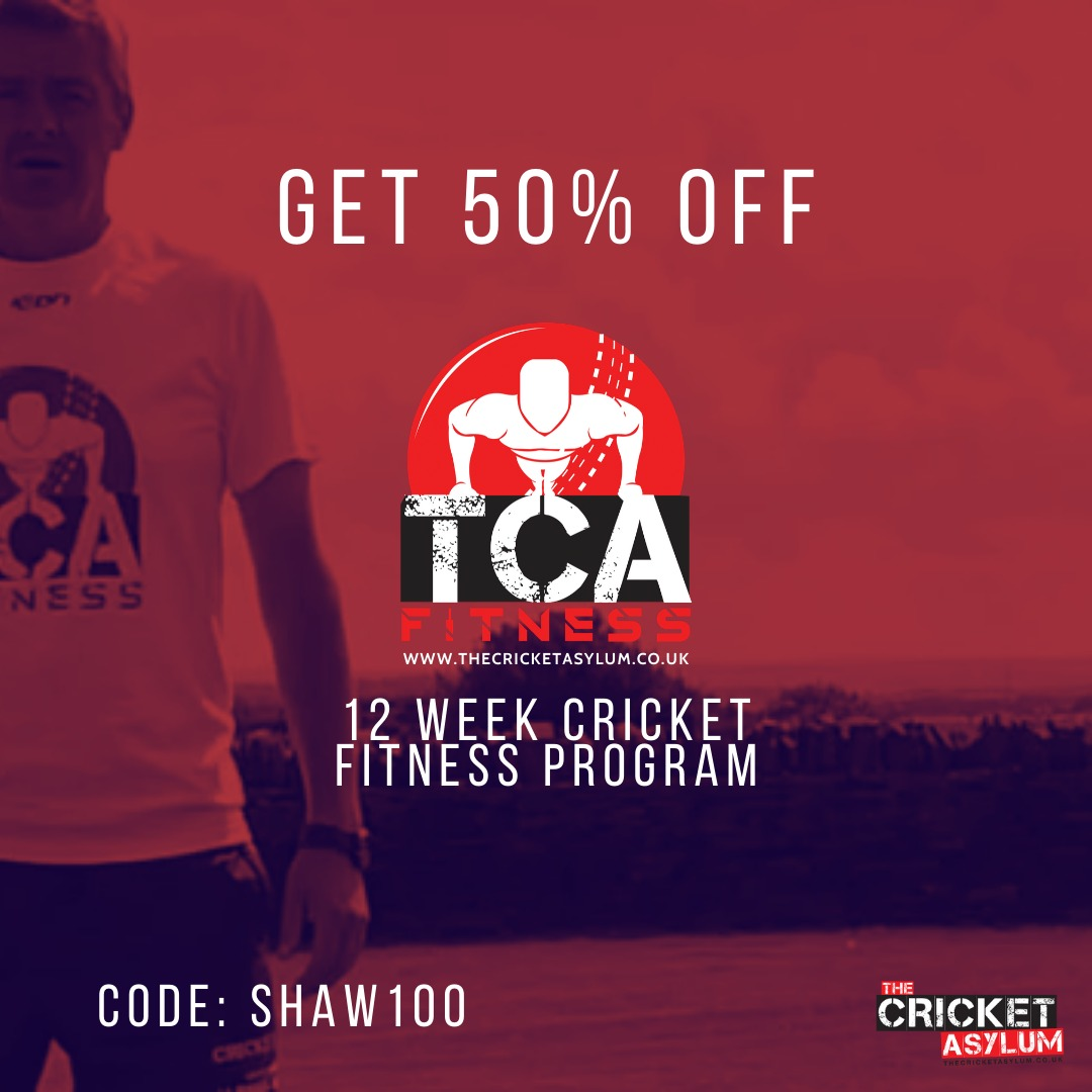 Guys keep active and busy at home with @TCAFitness - great way to #stayhome and be #safe but keep fit by my UK friends @cricketasylum  Use: SHAW100 and get 50% off! Enjoy! 💪🏼🏏🏋🏼‍♀️