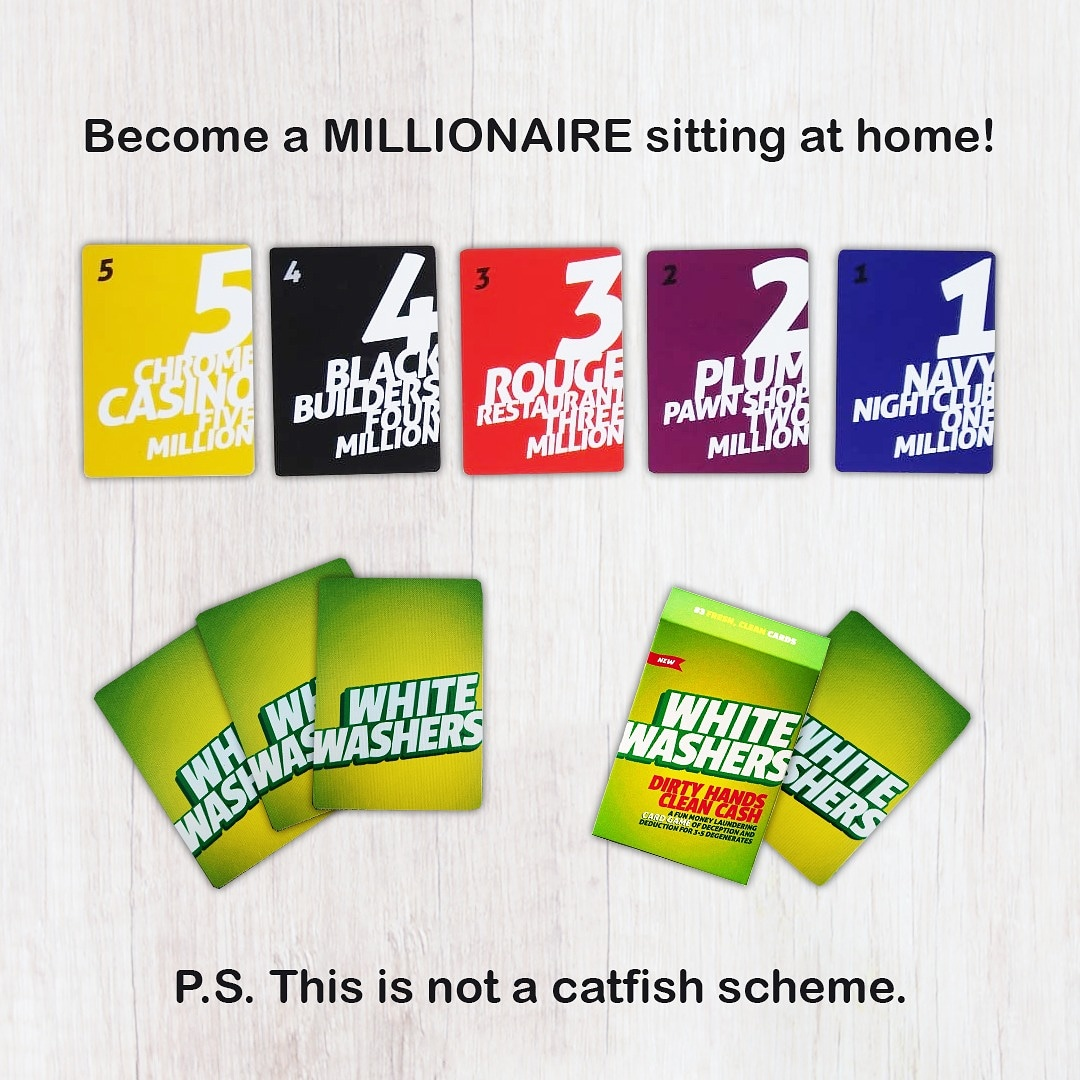 The current situation is all set to make most of go broke but here's something that will help you through it  . Binca Games hopes you are entertained during this 21 day lockdown period  . #BincaGames #millionaire #whitewashers #boardgames #cardgames pic.twitter.com/obC2yofhQX