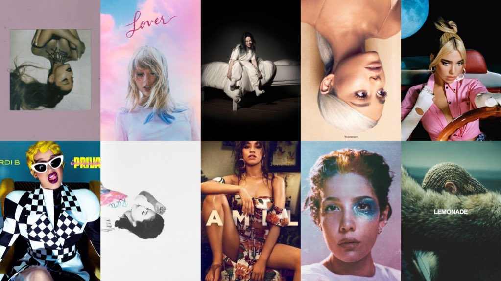 Female albums with the biggest opening day in Spotify history:  1. thank u, next — 70.2M 2. Lover — 54.9M 3. WWAFAWDWG? — 47M 4. Sweetener — 37M 5. Future Nostalgia — 29.2M 6. Invasion of Privacy — 27M 7. Rare — 25.3M  8. Camila — 19.5M 9. MANIC — 17.3M 10. Lemonade — 15.4M <br>http://pic.twitter.com/GCiMxifDxe