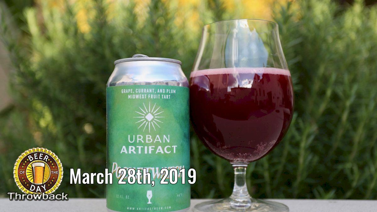 Beer of the Past for Mar 28th, 2019: Pocket Watch from Urban Artifact (http://botd.us/TI5MDI) in Cincinnati, OH. #beertography #ilovebeer #beersnob #drinklocal #beer #lovebeer #beergeek #craftbeer @ArtifactBeerpic.twitter.com/ykTgLH94nR