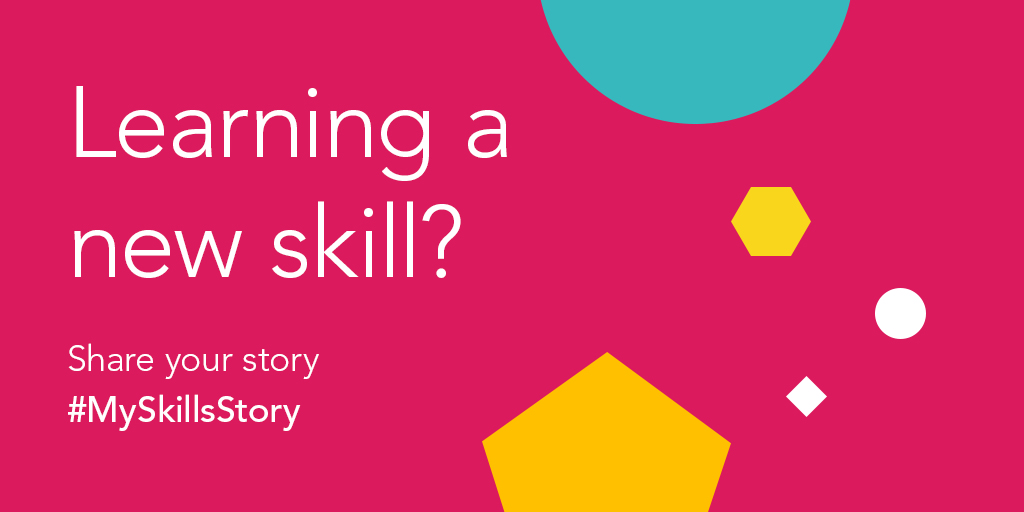 The @CityGuildsGroup want to hear your skills stories! Let us know how youre learning a new skill at the moment - whether its to support your colleagues to meet changing demands, through online learning, homeschooling your kids or skills around the house/garden.