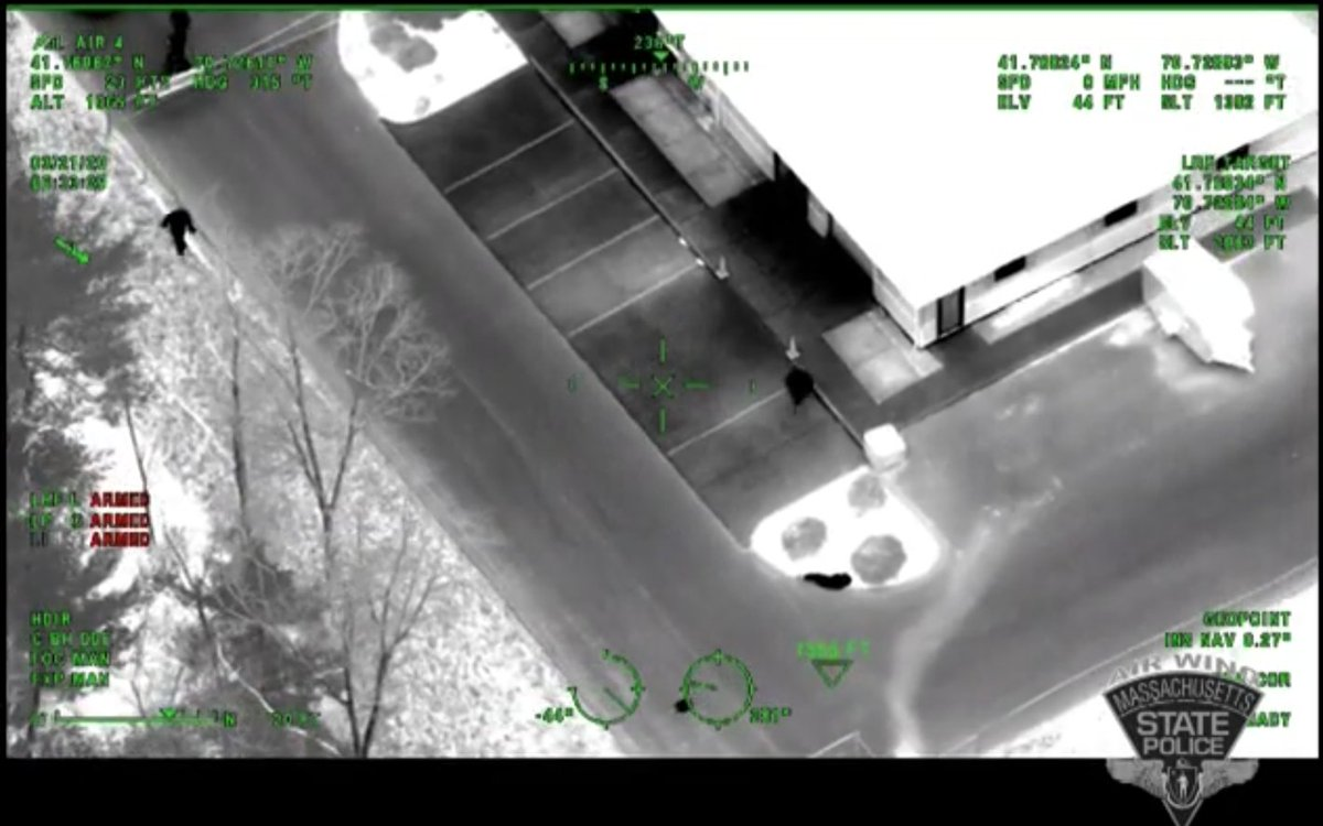 Earlier this week, @MassStatePolice released a video of the dramatic moments when troopers located an elderly man who was reported missing from a nursing home. The State Police Air Wing is equipped with the #FLIR Star SAFIRE 380-HDc - check out the story: https://bit.ly/2yeM3ZY