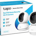 Image for the Tweet beginning: TP-Link indoor 360° home security