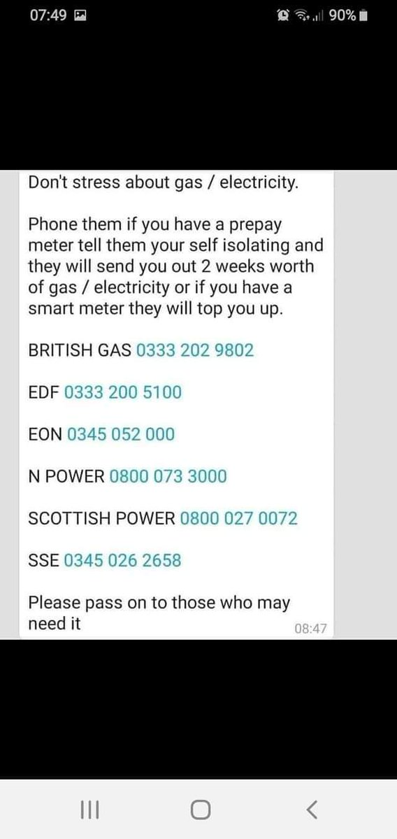 test Twitter Media - A number of people have asked about this today. If you are or know of anyone self-isolating who needs to top prepayment meters, here are some contact numbers. @BeaconService @BuryVCFA @BuryCouncil @MarkSmitton87 @GillatVCFA @GeorginaMcNult2 @older_team @TeamPrestwich @linds5560 https://t.co/0vTf9ckcki
