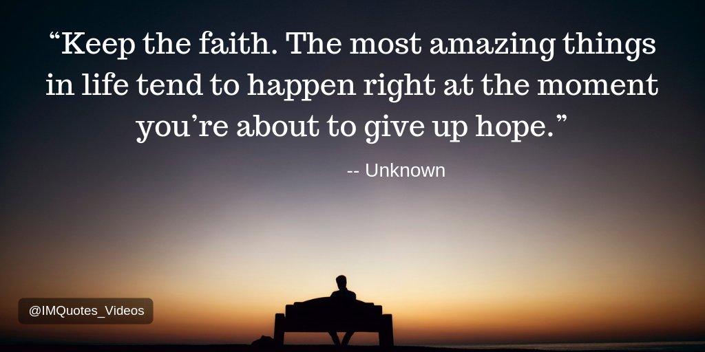 Keep the faith.  #Motivation pic.twitter.com/57gAgmlA2c