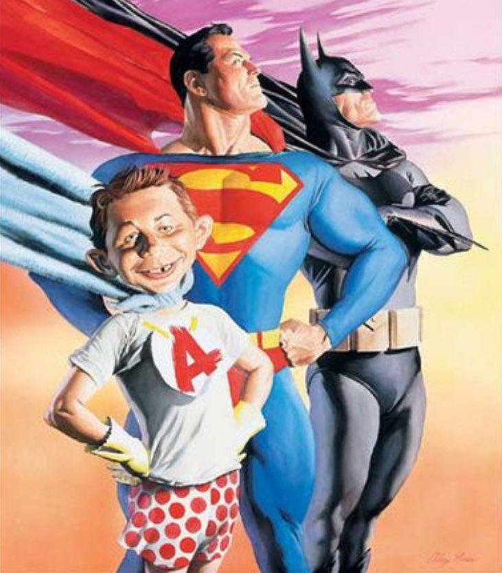Mad About Superheroes!                          By #AlexRoss            #DC pic.twitter.com/WkxfbenqK9