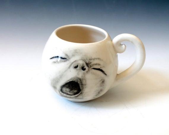 의 미디어: Yeah, Waking Up, Yawning, Same Here. Even My Coffee Cup Is Yawning. @Voter1Vote https://t.co/wyWpC2