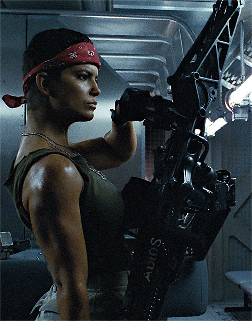 I feel like without Vasquez in Aliens, you don't have Michelle Rodriguez's entire career