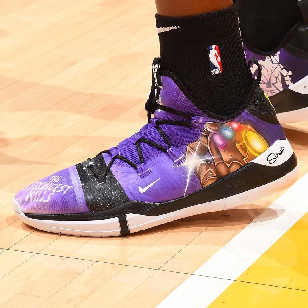 "Thanos"" Kobe AD Exodus customs"