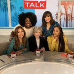 Image for the Tweet beginning: We're Back! @TheTalkCBS returns with