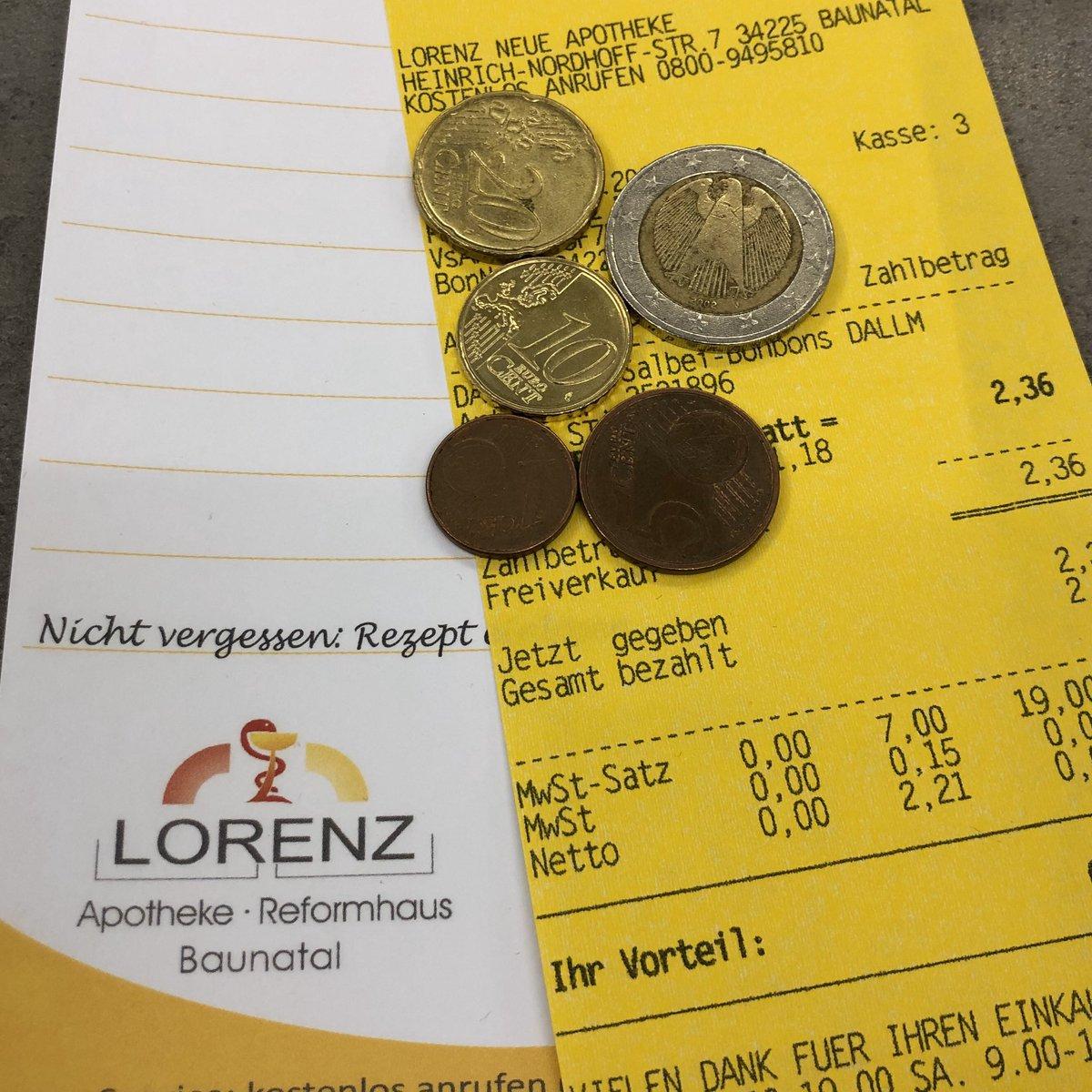 #LORENZneue|#Baunatal|#Corona|#Wechselgeld  Liebe Baunataler(innen), liebe Kund(inn)en,  bitte haben Sie Verständnis,  dass wir momentan kein Wechselgeld über die Bank beziehen können, darum zahlen Sie möglichst passend  oder mit Ihrer EC-Karte.  Danke  und bleiben Sie gesund!pic.twitter.com/8oedSyIT00