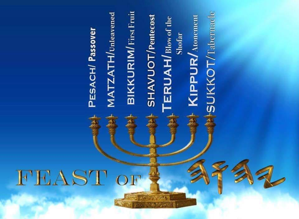 """These are the Feast Days/fixed Appointed Times (#Moedym)of #TheHeavenlyFather #YaHUaH of hosts which are found in the Bible - You won't find any of the Pagan holy-days of """"#Christ-mass"""" - #Easter - #Halloween - #Valentines Day - celebrating #birthdays etc.pic.twitter.com/iILYkOXTUC"""