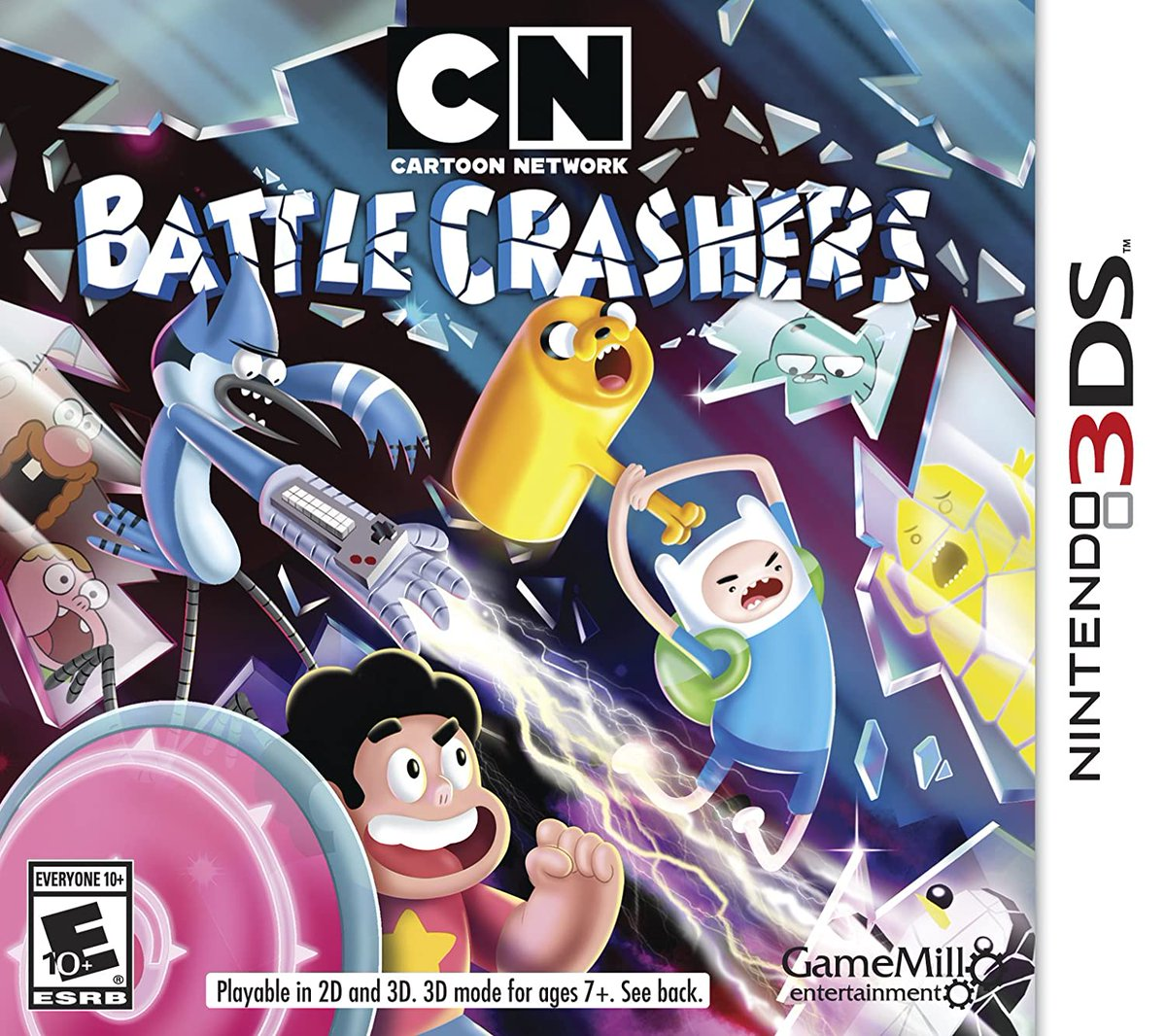 the fact that every show featured in this game is now finished makes me very uncomfortable.   #StevenUniverse #AdventureTime #RegularShow #Gumball