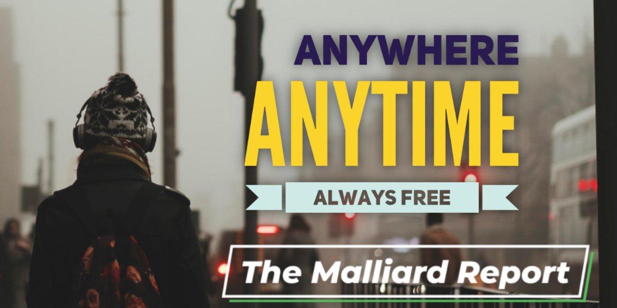 Subscribe to The Malliard Report Today! #ApplePodcasts #Spofity #Stitcher #GooglePodcasts #Overcast #Castbox #RadioPublic #Breaker #PocketCasts or even via #RSSfeed https://www.malliard.com/podcastpic.twitter.com/OD8AZ5aJtz