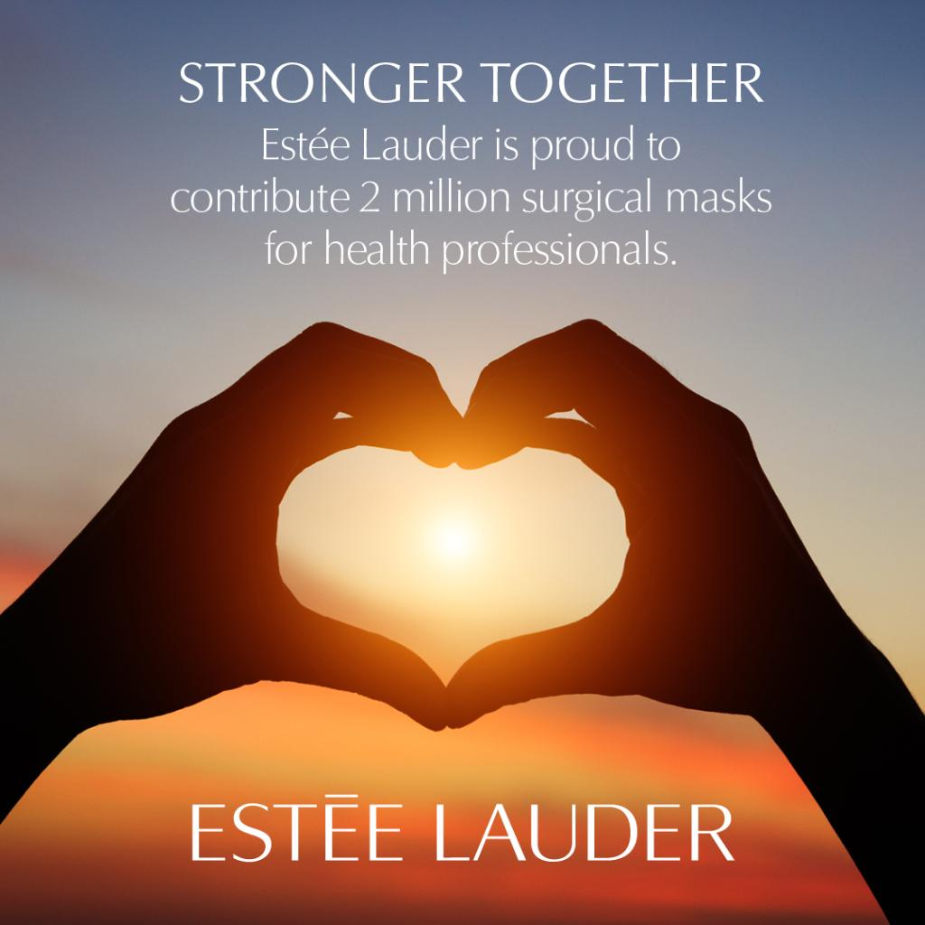 We're donating two million surgical masks for those on the front lines in New York as part of our efforts toward COVID-19 relief. Thank you, from the bottom of our hearts to those who are working tirelessly every day to help others. We are #StrongerTogether. @elcompanies<br>http://pic.twitter.com/09yD1RAeYu