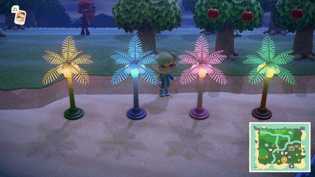 ヤシ 木 ランプ あつ の 森