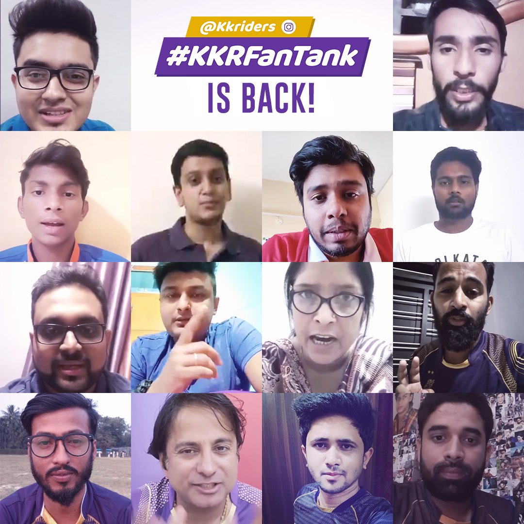 #KKRFanTank is back! 💜💛💜  We will be going LIVE on our official Instagram handle on Tuesday, March 31 to re-live some of the most iconic moments from previous seasons! 🏏  Guess what? YOU can be a part of it too! Check out our instagram story to enter the contest! ⏳  #KKR