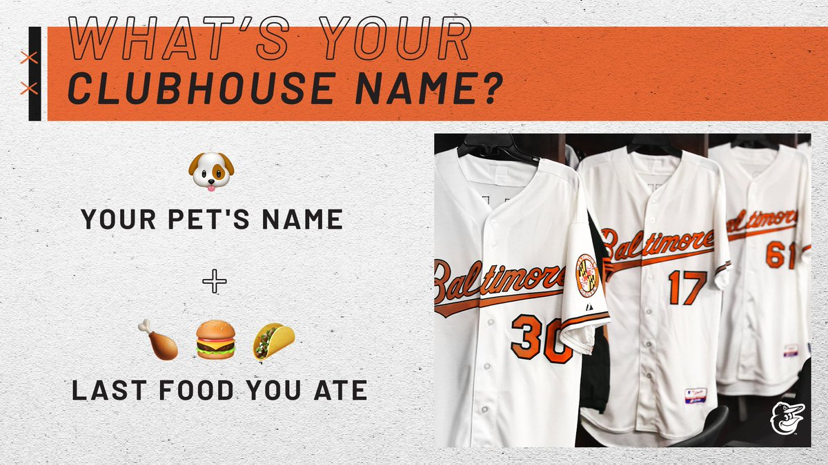 🐶 + 🌭 = Your clubhouse nickname! Drop yours below? ⬇️