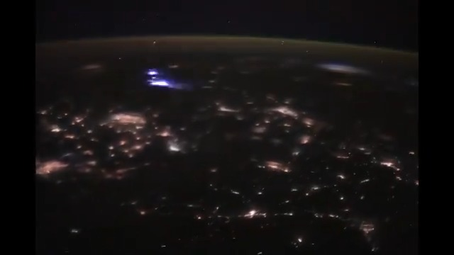 This one minute time-lapse video shows a 27-minute orbital night pass the space station took from Germany to Indonesia on March 21.