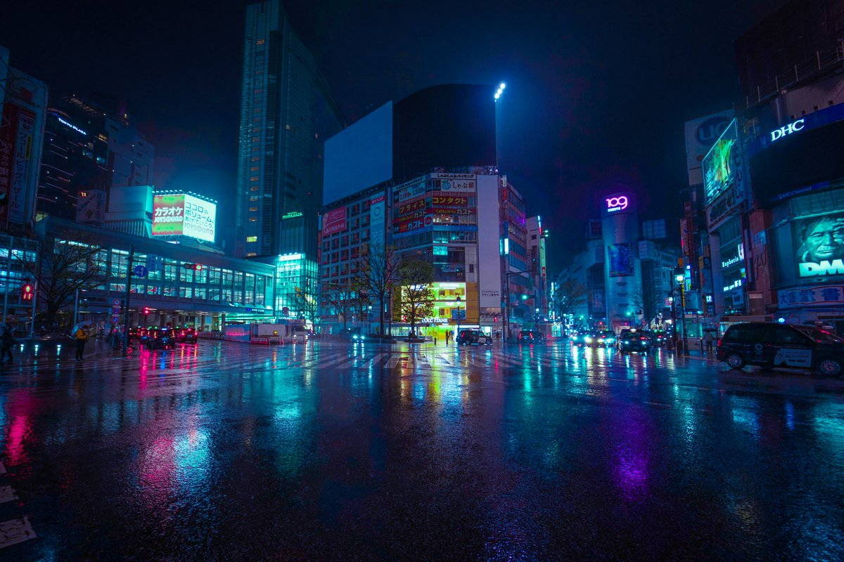 Tokyo Lockdown // #neon #tokyo #cyberpunk #japanpic.twitter.com/i6nEOYL3ES