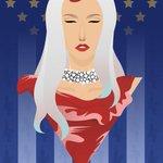 Image for the Tweet beginning: Happy birthday, @ladygaga! 🎉 (art