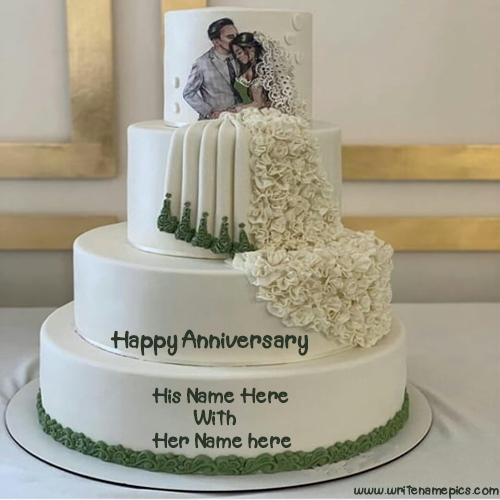 Writenamepics On Twitter Happy Anniversary Cake With Couple Name Image Is A Way That You Can Celebrate The Wedding Anniversary Special And Romantic Https T Co Tcv489afop Anniversarycakewithname Happyanniversarycakewithname Https T Co 0t81by2yv3