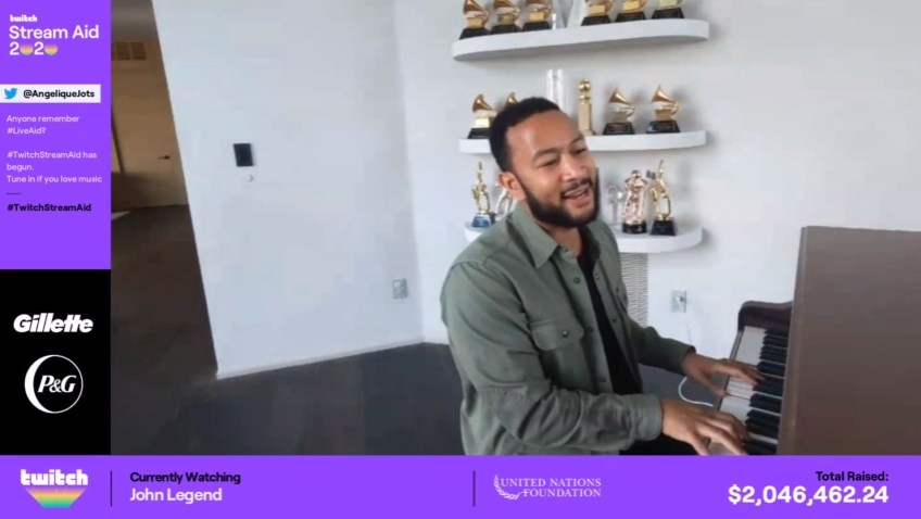 """𝙂𝙊𝙇𝘿𝙀𝙉𝘽𝙊𝙔 on Twitter: """"Shout out to @johnlegend with the ..."""