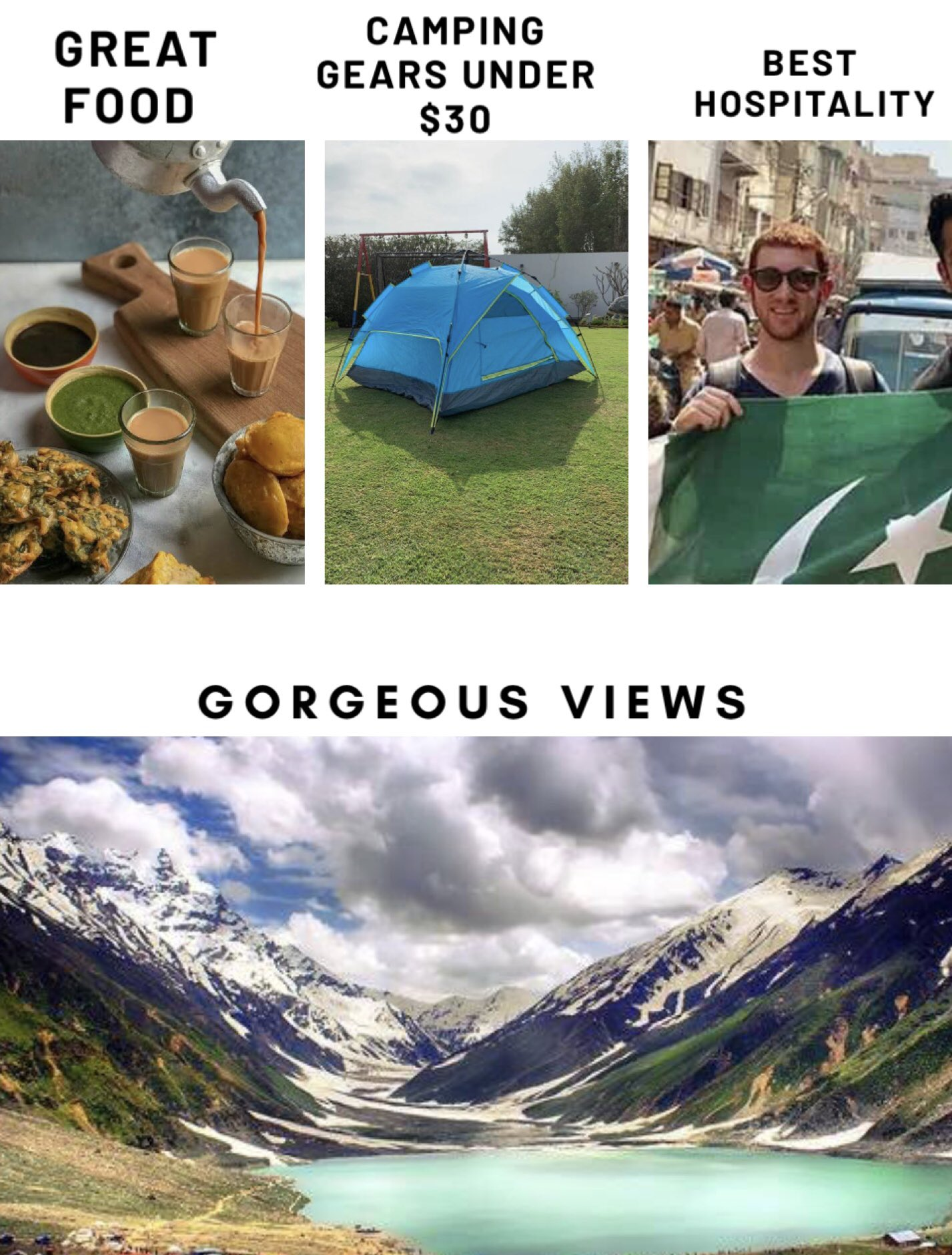 Paramount Industries On Twitter After The Whole Corona Virus Ordeal Is Over Head Over To Pakistan To Have An Amazing Camping Experience Gorgeous Views Delicious Food Camping Gear Under 30 Best Hospitality