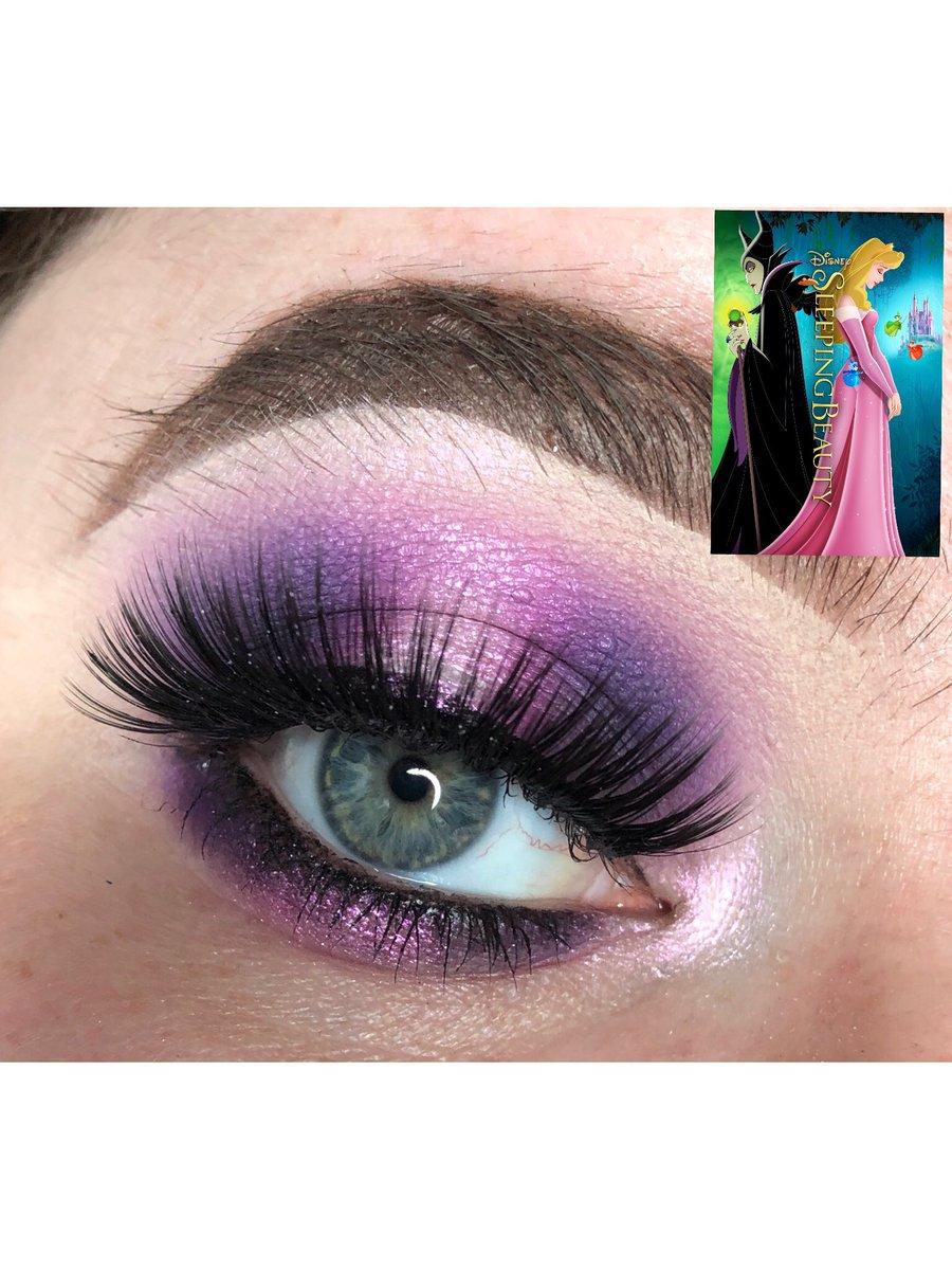 My Disney looks so far, I have noticed most villains wear purple and black #eyeliciousdisney all done using my @MMMMITCHELL palettepic.twitter.com/9NB7FGSRfZ