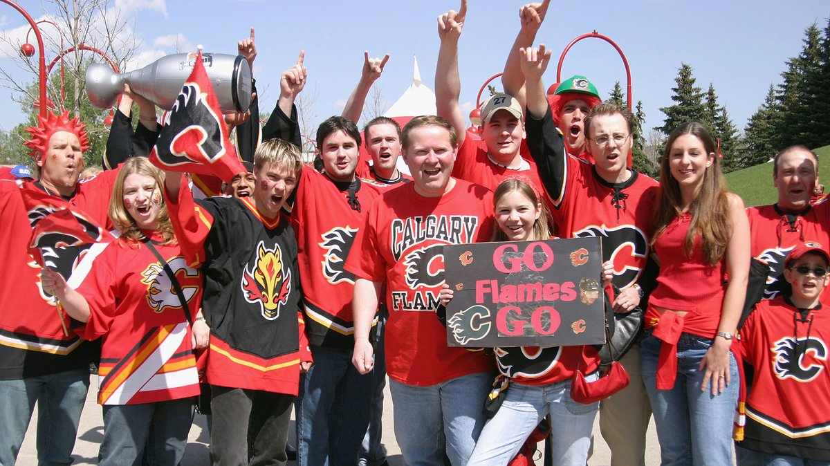 Calgary Flames On Twitter We Know A Lot Of You Were There Every Step Of The Way During The 2004 Playoffs And The World Got To See How Incredible The Cofred Is