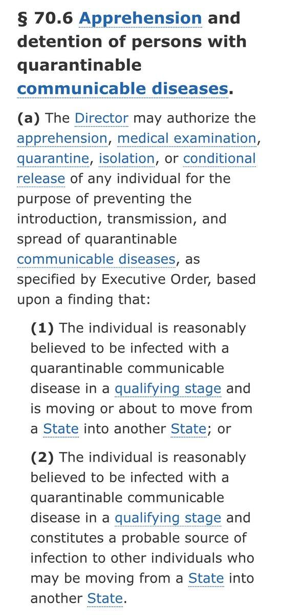 diseases quarantine