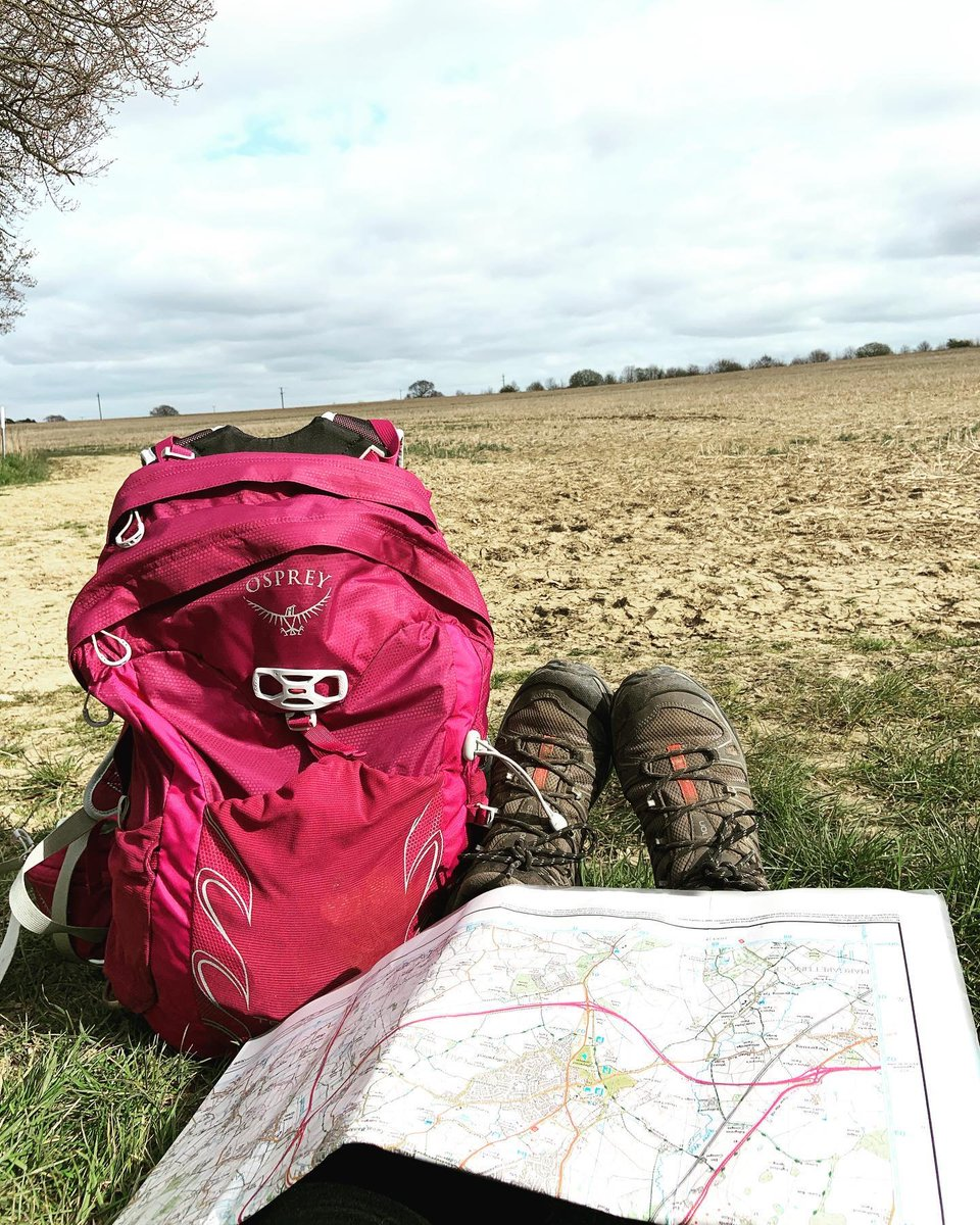 Miss Smith has been missing DofE & the freedom, so has used her daily exercise to go for a walk with her map and compass #britishcountryside #onceaday #walk #exercise #positiveMentalHealthpic.twitter.com/P5iSI4dFCS