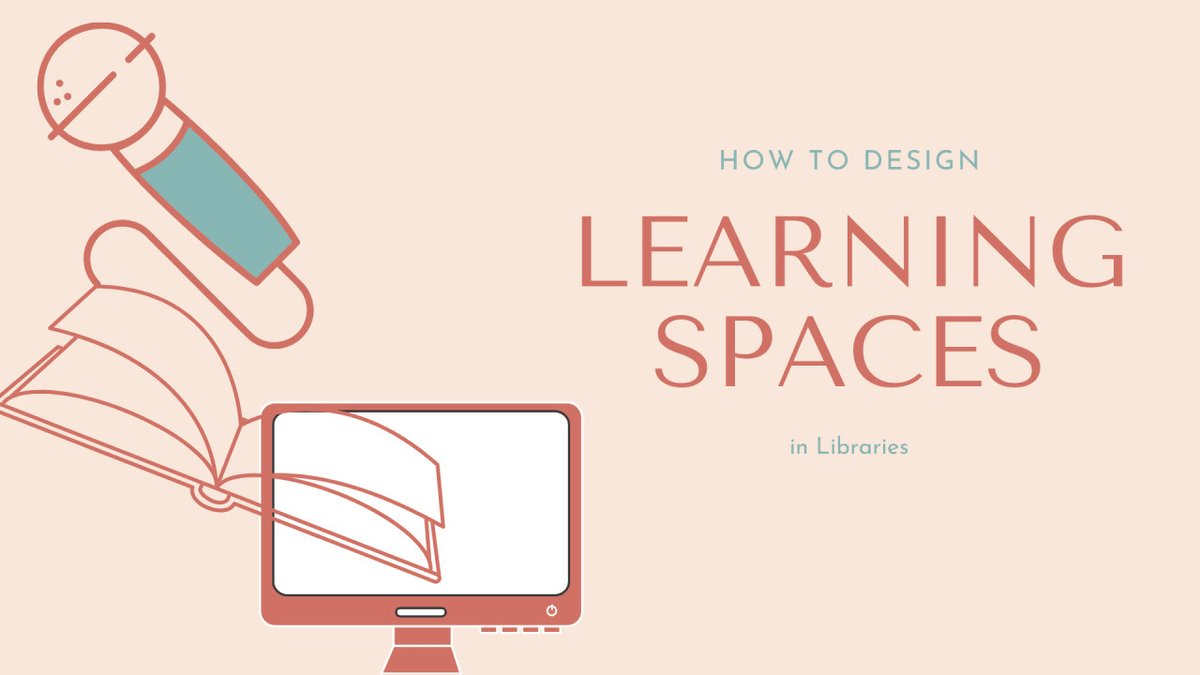 Today's Featured Educator is @technolibrary How to Design Learning Spaces in Libraries cctea.ch/2JjkfWO #10mt