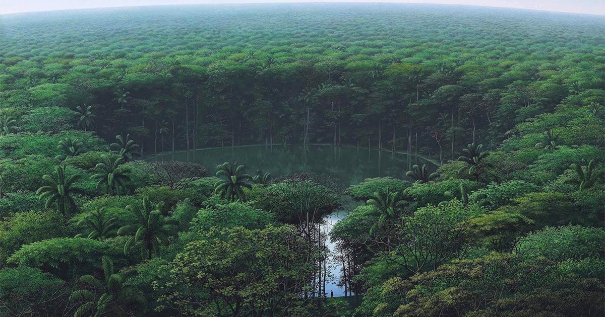 Idyllic Landscape Paintings by Artist Tomás Sánchez Render Nature's Meditative Qualities http://dlvr.it/RSkx2Npic.twitter.com/h2JpTMuSr1