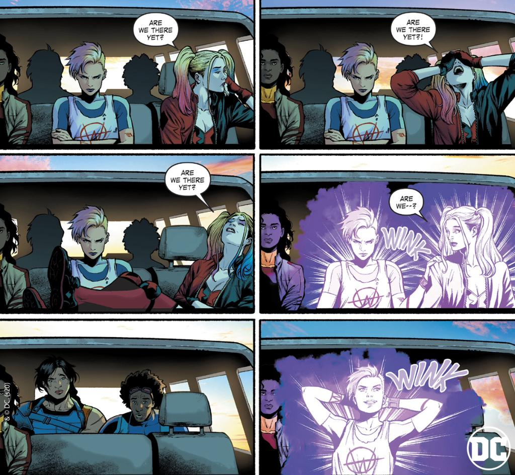 There's always THAT member on the road trip  Thoughts on SUICIDE SQUAD #4? #SquadGoalsDCpic.twitter.com/r287lUJ2T8