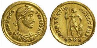 Died today 366AD Procopius. Roman usurper against Valens, and a member of the Constantinian dynasty. His reign lasted about 8 months.