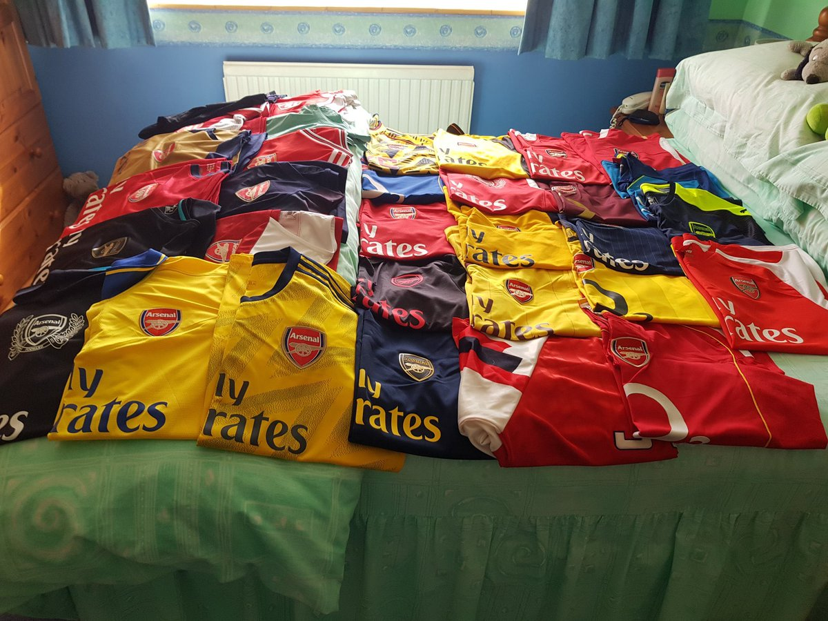 @Arsenal @dawesy2801 My collection @Arsenal