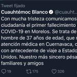Image for the Tweet beginning: 🔴 Confirma el gobernador de