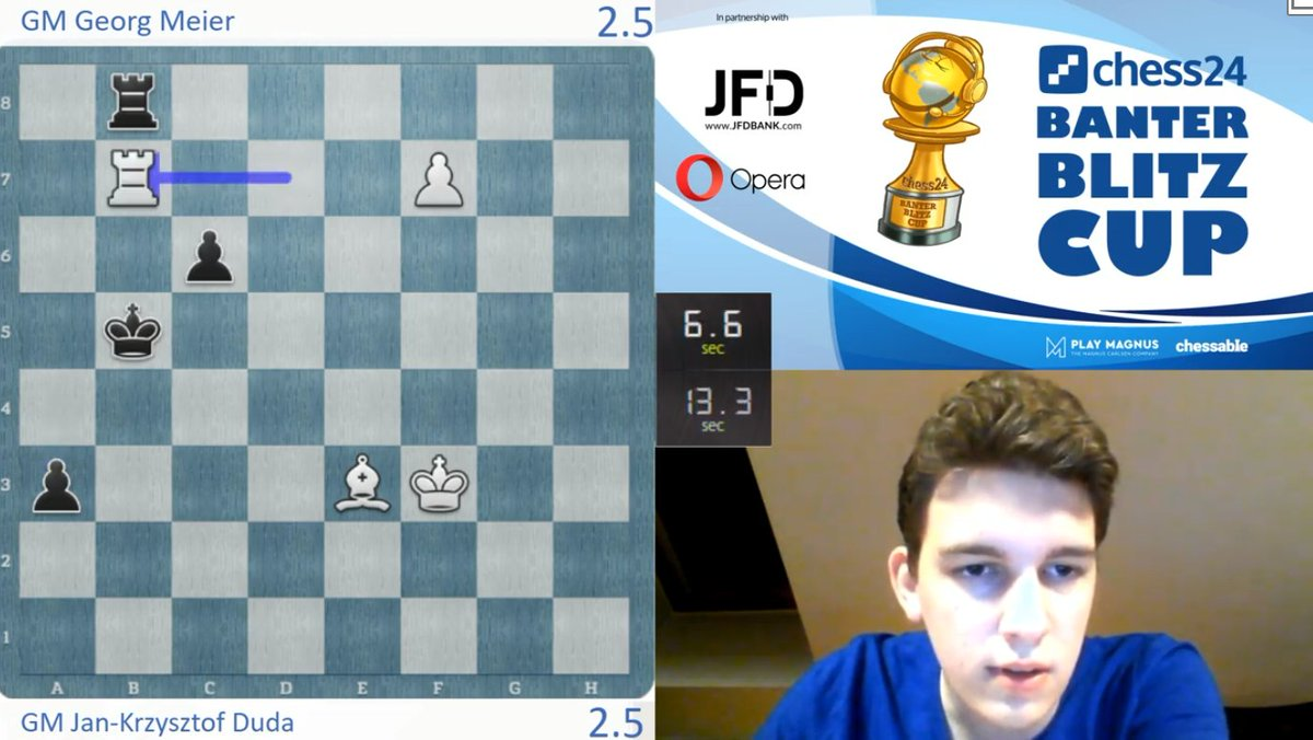 test Twitter Media - Not a mouseslip, as Duda takes a 3.5:2.5 lead! https://t.co/ZZLaXwBENt  #c24live #BanterBlitzCup https://t.co/pTmoWpFtoI