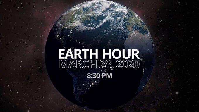 Vanavond 20.30 is het weer Earth Hour: Één uur lang het licht uit doen...