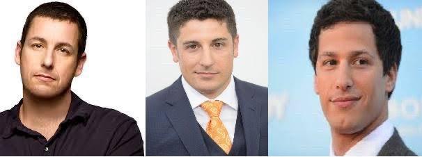 Adam Sandler, Jason Biggs e Andy Samberg <br>http://pic.twitter.com/2SCazaf4Mj