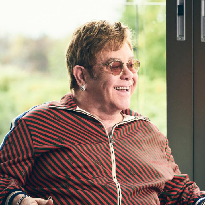 """""""Coming together as one I hope will be the result of this."""" @eltonofficial connects with @zanelowe to share his favorite songs and talk life at home. Listen: http://apple.co/EltonSelects"""