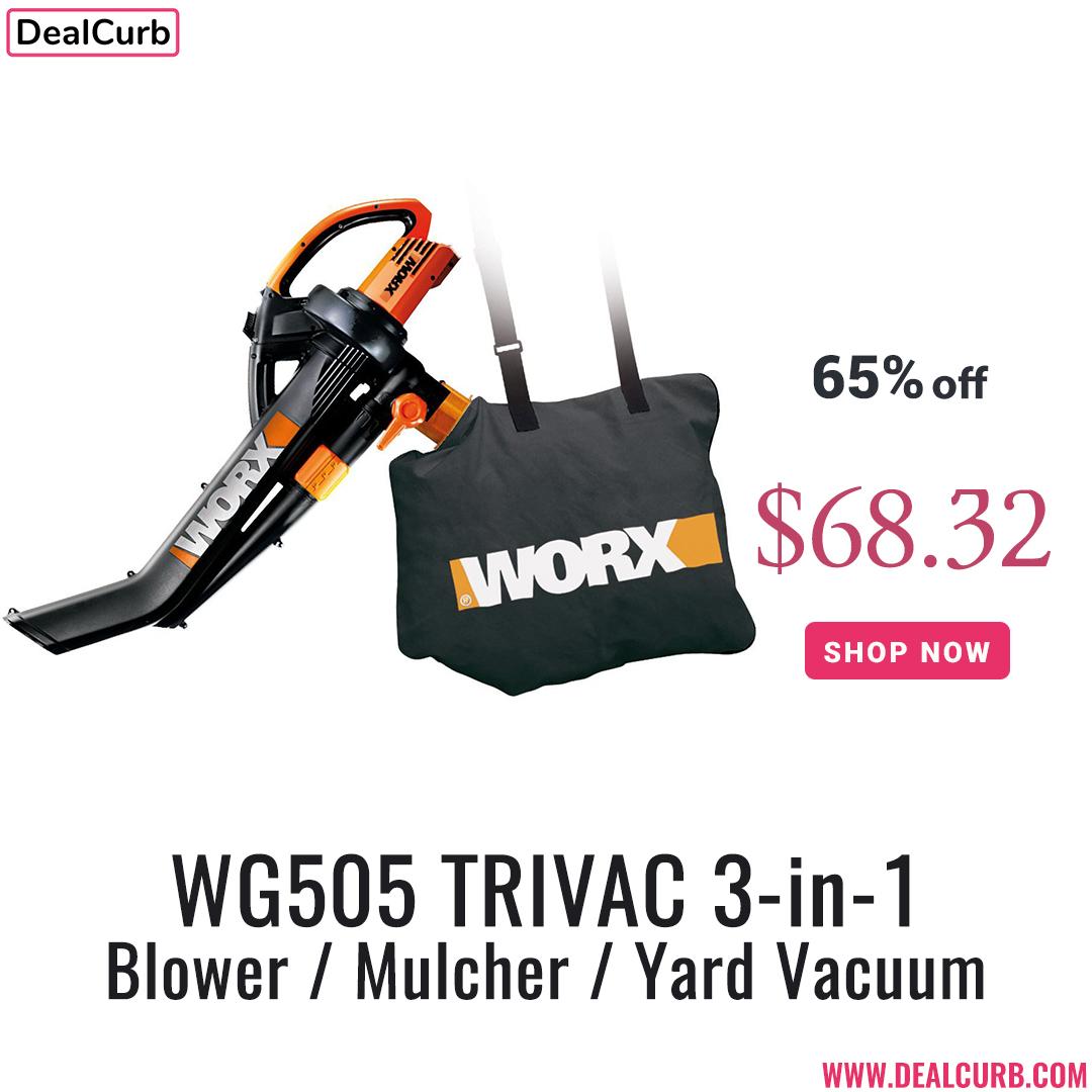 WG505 TRIVAC 3-in-1 Blower / Mulcher / Yard Vacuum . Shop now: https://www.dealcurb.com/deals/wg505-trivac-3-in-1-blower-mulcher-yard… . #dealcurb #drillbrush #detailers #autodetail #detailed #detailingdoneright #detailingworld #detailingboost #подарунок #різдво #новийрік2020 #skyworth #skyworthукраина #giveaways #samsungpic.twitter.com/cBj2yt8GR5