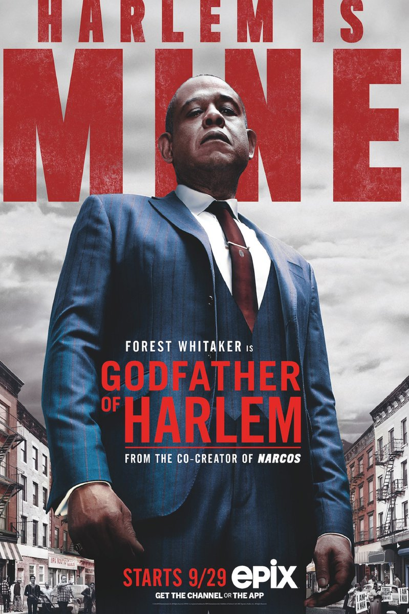 Just started watching @GodfatherHarlem on EPIX. Really enjoying it. Reminiscent of my childhood in NYC. #StayHome #StayAtHomeAndStaySafepic.twitter.com/52LWLynXme