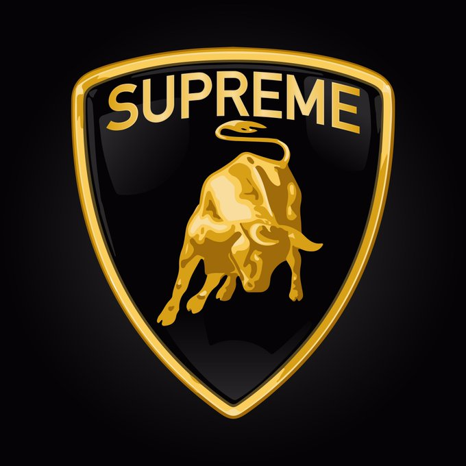's Media: RT @ModernNotoriety: Supreme x Lamborghini collection releasing this week 🏎 https://t.co/Rr8XMz5oz