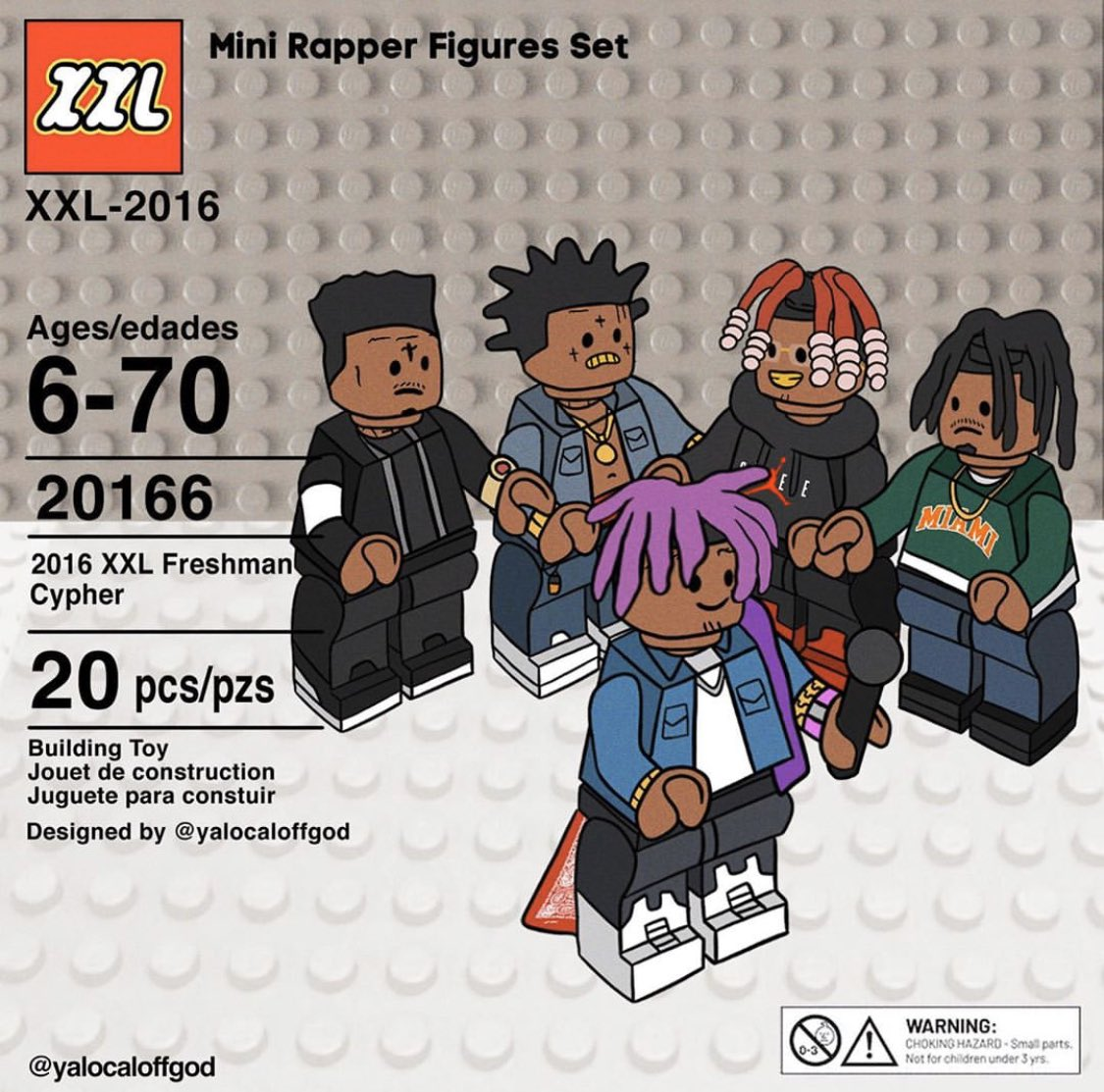AYYYE LEGOOO 🗣🗣🗣 🎨 IG: yalocaloffgod